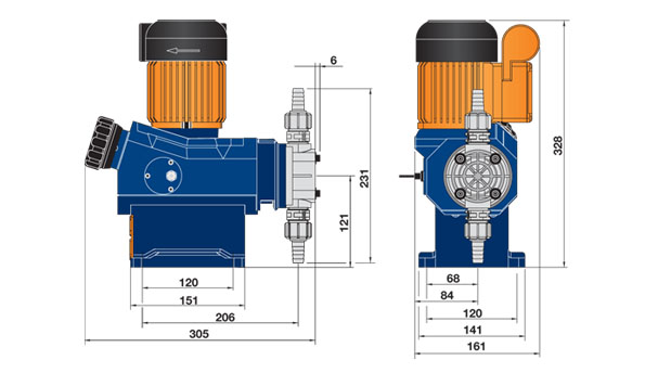 schema pompa prominent vario c